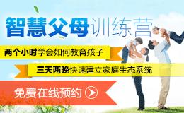 智慧父母训练营(王纪琼,家庭系统教育专家)